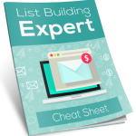 Cheat sheet for list Building